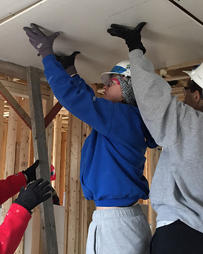 stoughton habitat for humanity build 2